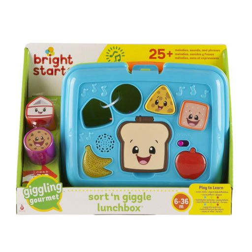 Bright Starts Giggling Gourmet Sort 'n Giggle Lunchbox