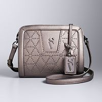 Simply Vera Vera Wang Midnight Studded Crossbody Bag