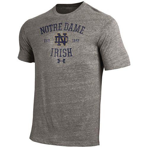 Men's Under Armour Notre Dame Fighting Irish Triblend Tee