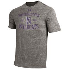 Men's Under Armour Northwestern Wildcats Triblend Tee