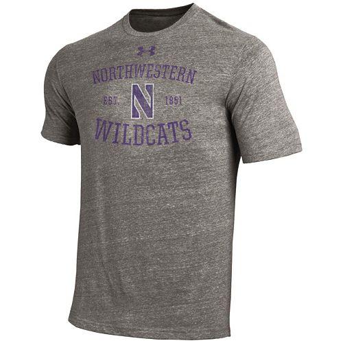 Men's Under Armour Northwestern Wildcats Triblend Tee