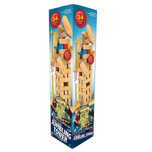 Giant Jumbling Tower Game By Cardinal