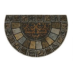 Mohawk® Home Stone Tile Scroll Slice Doormat - 23'' x 35''