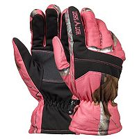 Girls 4-16 Hot Shot Realtree Ski Gloves