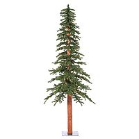 Vickerman 8-ft. Pre-Lit Natural Alpine Artificial Christmas Tree