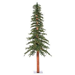 Vickerman 9-ft. Pre-Lit Natural Alpine Artificial Christmas Tree