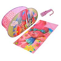 Dreamworks Trolls 3-pc. Sleeping Bag, Tent & Flashlight Dream Set