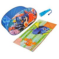 Disney / Pixar Finding Dory 3 pc Sleeping Bag, Tent & Flashlight Dream Set