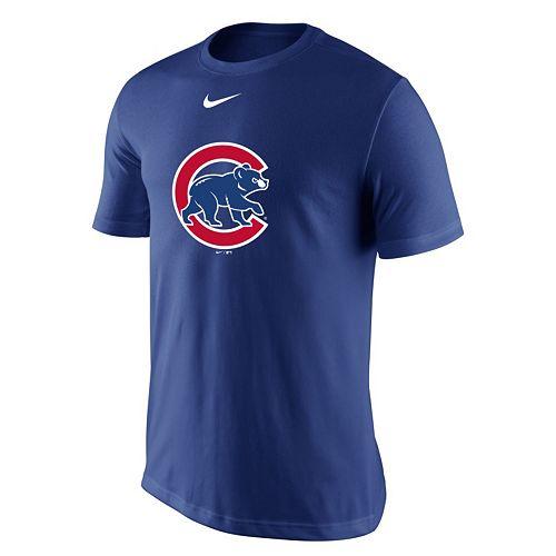 Men's Nike Chicago Cubs Logo Tee