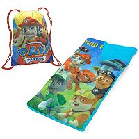 Boys Paw Patrol Drawstring Sling Bag & Sleeping Bag Set