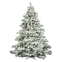 Vickerman 6.5-ft. Flocked Alaskan Pine Artificial Christmas Tree