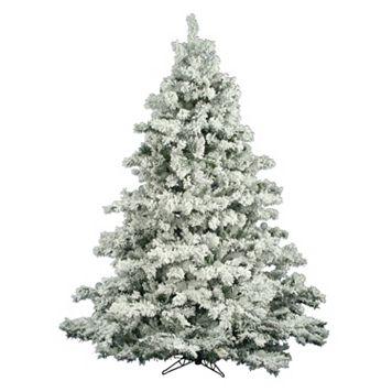 Vickerman 6.5-ft. Flocked Alaskan Pine Artificial Christmas Tree