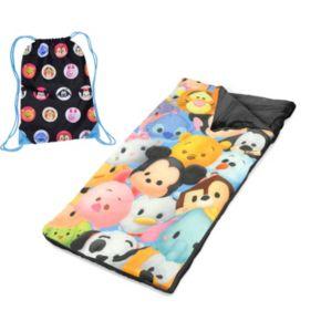 Disney's Tsum Tsum Drawstring Sling Bag & Sleeping Bag Set