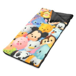 Disney's Tsum Tsum Drawstring Sling Bag & Sleeping Bag Set