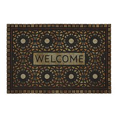 Mohawk® Home Entranced Mosaic Medallion ''Welcome'' Doormat - 23'' x 35''