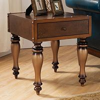 Leick Furniture Vintage Trunk End Table