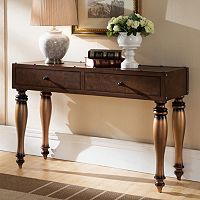 Leick Furniture 2-Drawer Trunk Console Table