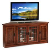 "Leick Furniture Mission 56"" Corner TV Stand"