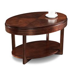 Leick Furniture Oval Classic Coffee Table