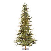 Vickerman 6-ft. Clear Pre-Lit Pinecones Ashland Artificial Christmas Tree