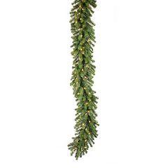 Vickerman 9-ft. Pre-Lit Douglas Fir Artificial Christmas Garland