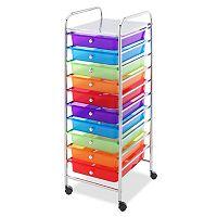 Whitmor 10-Drawer Cart