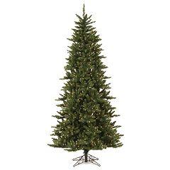 Vickerman 7.5-ft. Warm White Pre-Lit Camden Fir Slim Artificial Christmas Tree