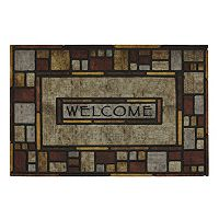 Mohawk® Home Silvia Stone Blocks ''Welcome'' Doormat