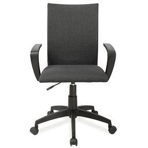 Leick Furniture Linen Apostrophe Office Desk Chair