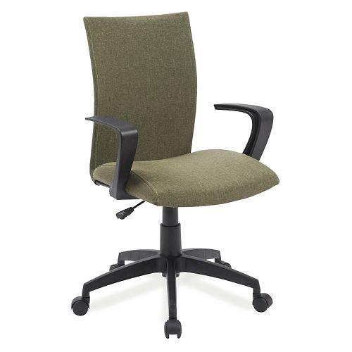 Leick Furniture Linen Apostrophe Office Desk Chair