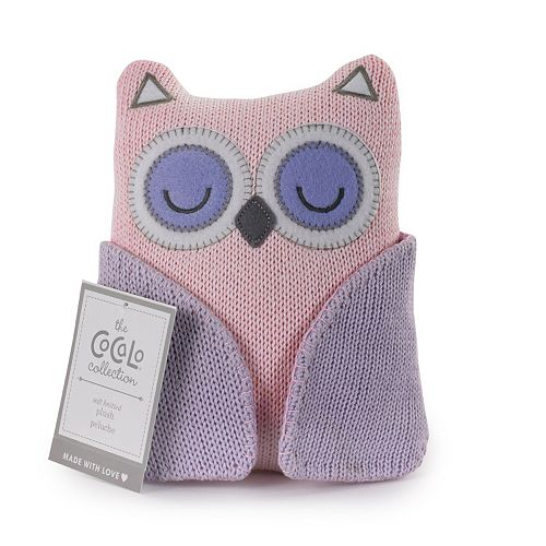 CoCaLo Knitted Plush Animal Rattle