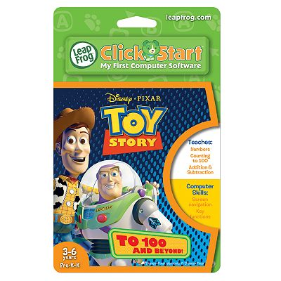 Disney/Pixar Toy Story ClickStart To 100 And Beyond Game by LeapFrog