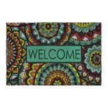 Mohawk® Home Global Inspiration Medallion ''Welcome'' Doormat - 23'' x 35''