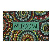 Mohawk® Home Global Inspiration Medallion ''Welcome'' Doormat - 23'' x 35''
