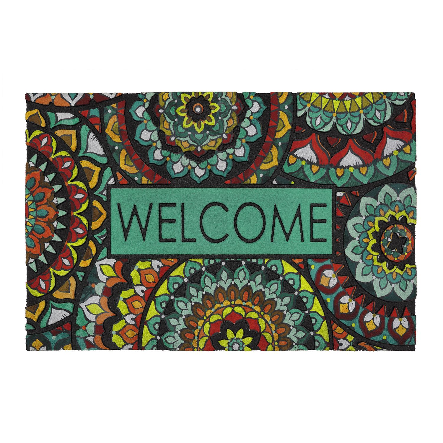 Charmant Mohawk® Home Global Inspiration Medallion U0027u0027Welcomeu0027u0027 Doormat   23u0027u0027