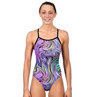 Women's Dolfin Winners V-2 Open-Back One-Piece Swimsuit