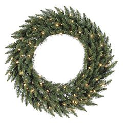 Vickerman 36' Pre-Lit Camden Fir Artificial Christmas Wreath