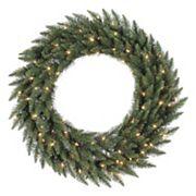 Vickerman 60' Pre-Lit Camden Fir Artificial Christmas Wreath