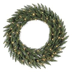 Vickerman 60' Pre-Lit Camden Fir Artificial Christmas Wreath