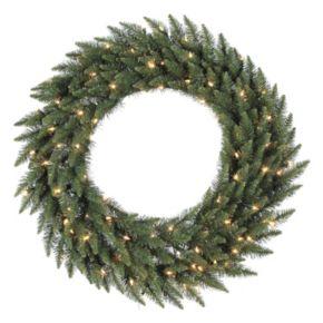 "Vickerman 60"" Pre-Lit Camden Fir Artificial Christmas Wreath"