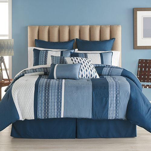 Bryan Keith Colfax Reversible Comforter Set