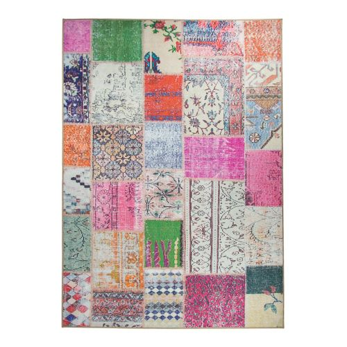 Ruggable® Washable Patchwork Boho 2-pc. Indoor Outdoor Rug System - 5