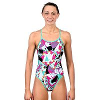 Women's Dolfin Reversible String-Back One-Piece Swimsuit