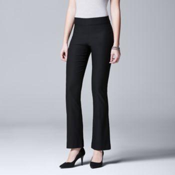 Women's Simply Vera Vera Wang Twill Bootcut Pants