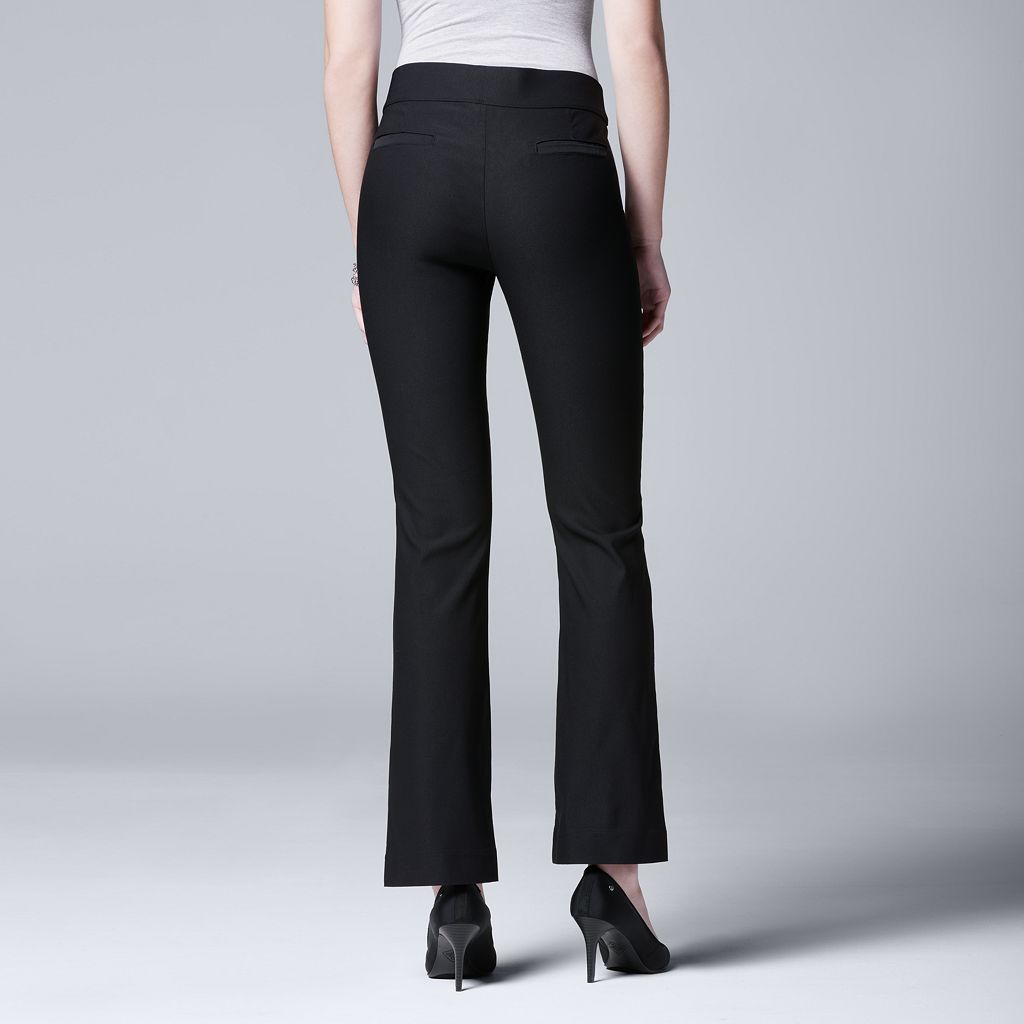 Women's Simply Vera Vera Wang Twill Bootcut Pants