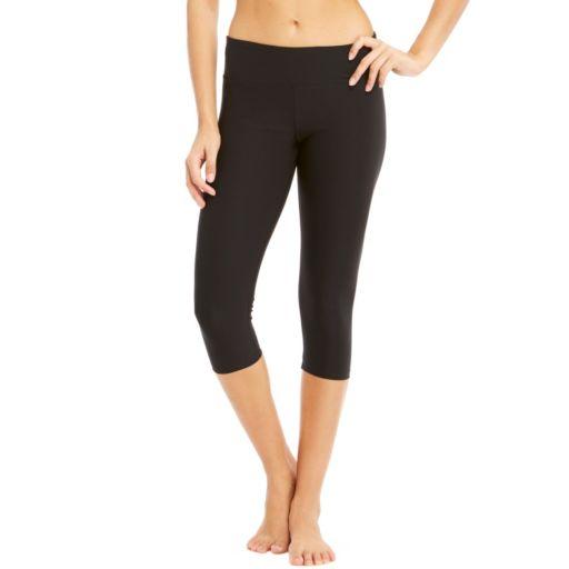 Women's Bally Total Fitness Yoga Capris