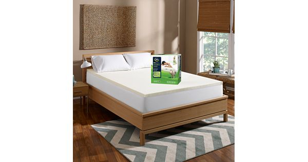 Serta 1 5 Inch Mattress Saver Memory Foam Mattress Topper