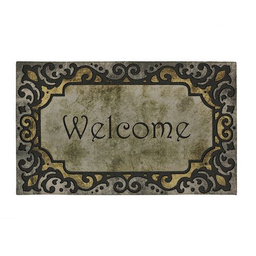 Mohawk® Home Divine Tradition Scroll ''Welcome'' Doormat - 18'' x 30''