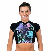 Women's Dolfin Bellas Crop Rash Guard