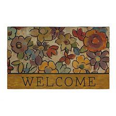 Mohawk® Home Hazel Eyes Floral ''Welcome'' Doormat - 18'' x 30''